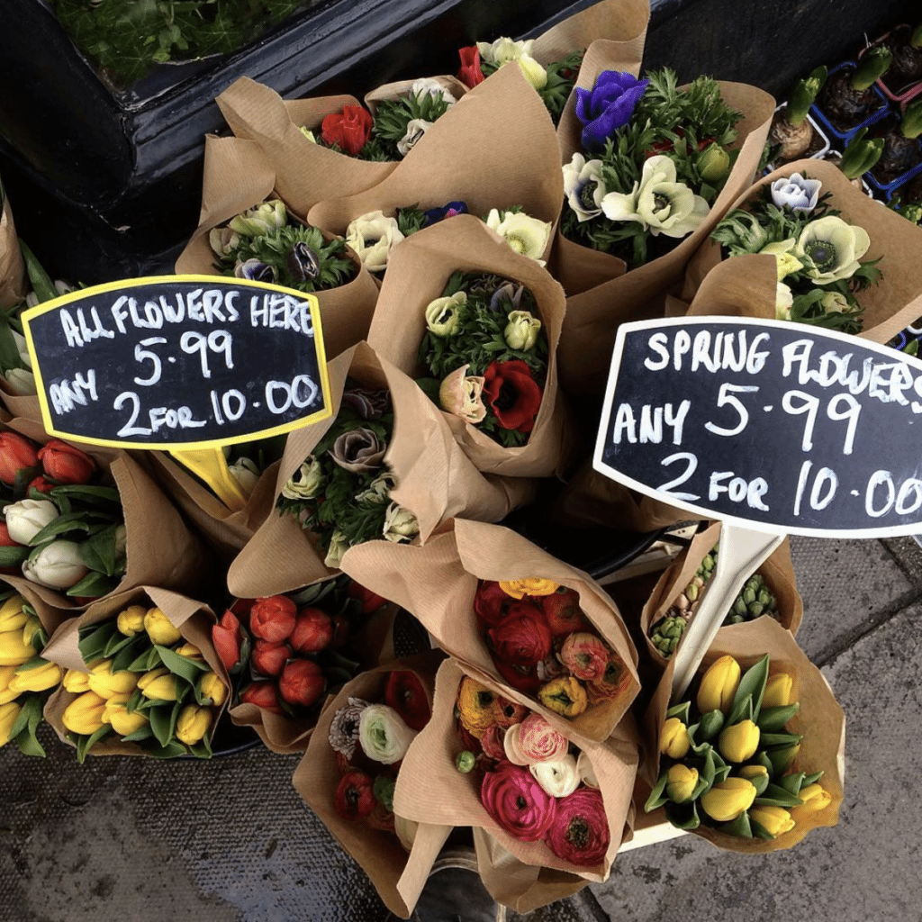 the best places to buy flowers & plants in edinburgh!