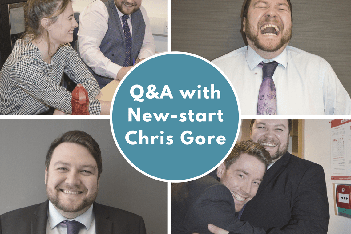 An Interview with New-start Chris
