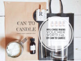 can to candle