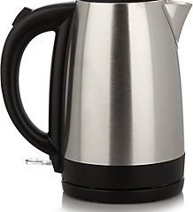 Stainless Steel and Black Cordless Kettle