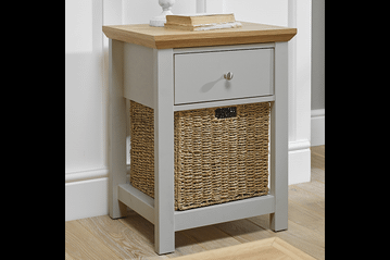 Cotswold Lamp Table in Grey