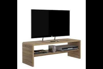 Curve Wide Coffee Table /TV Unit