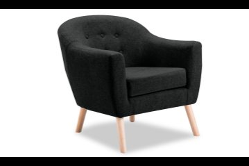 Percy Accent Chair Charcoal