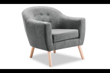 Percy Accent Chair Light Grey
