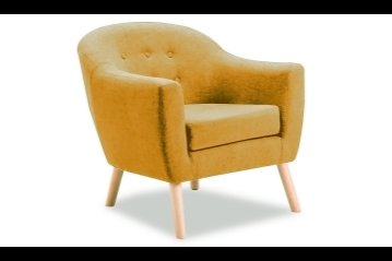 Percy Accent Chair Mustard
