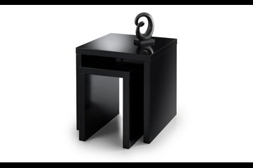 Metro Black Nest of Tables