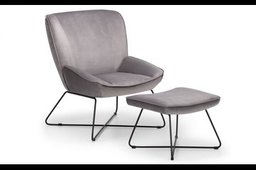 Mila Accent Chair & Stool