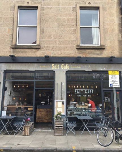 Salt Cafe Edinburgh