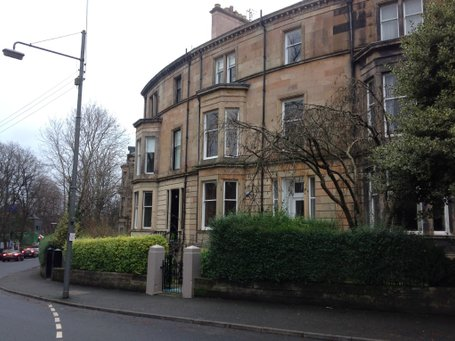 P313: Rosslyn Terrace, Dowanhill, Glasgow