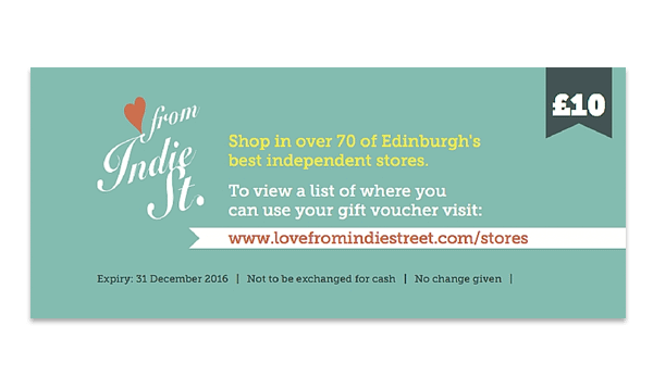 Edinburgh's Best Shopping: Love from Indie Street
