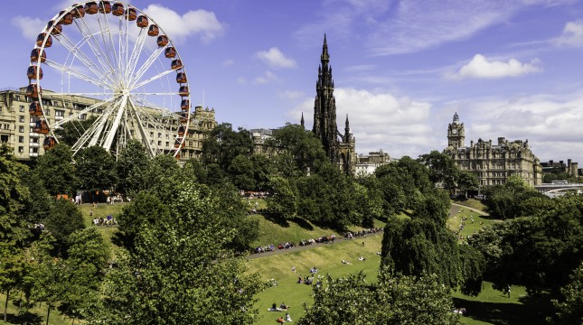 Edinburgh in July