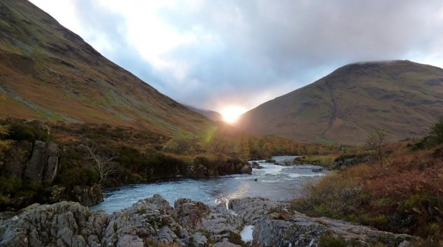 Glencoe offer the opportunity for many rewarding walks