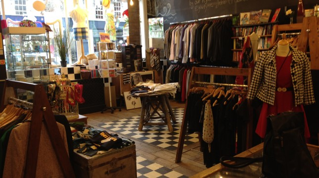 Edinburgh Vintage shops