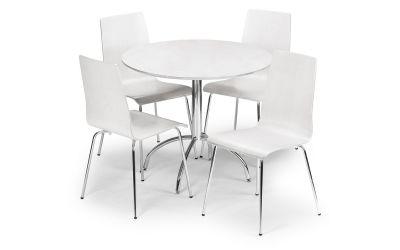 Bistro White Dining Set