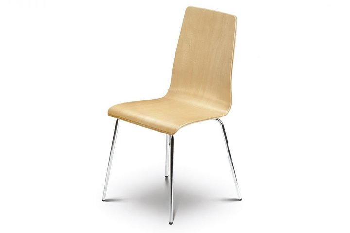 Bistro White Dining Chair