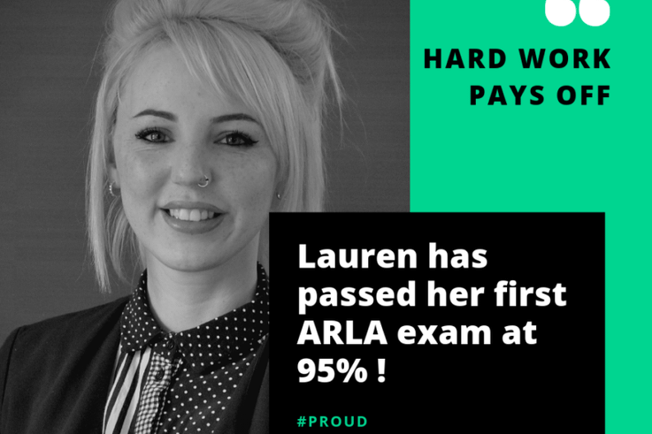 Exam Success for Lauren
