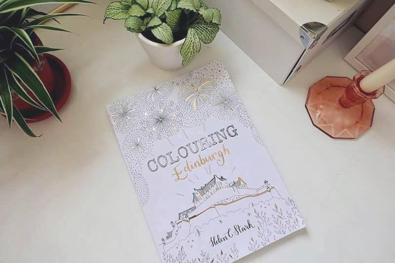 Meet edinburgh illustrator helen c stark dickins Colouring books for adults waterstones