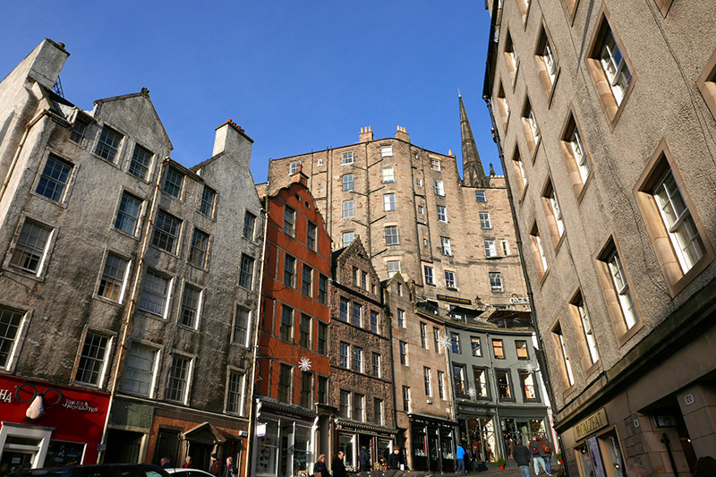 Grassmarket Edinburgh view