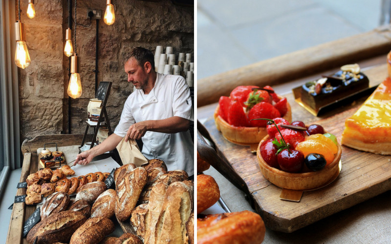 artisan bakeries in Edinburgh