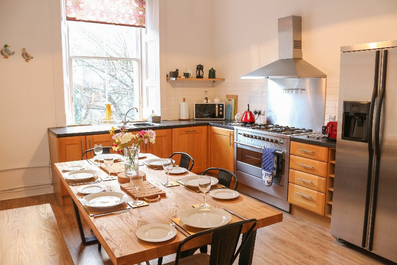 New Town dog friendly flat Edinburgh