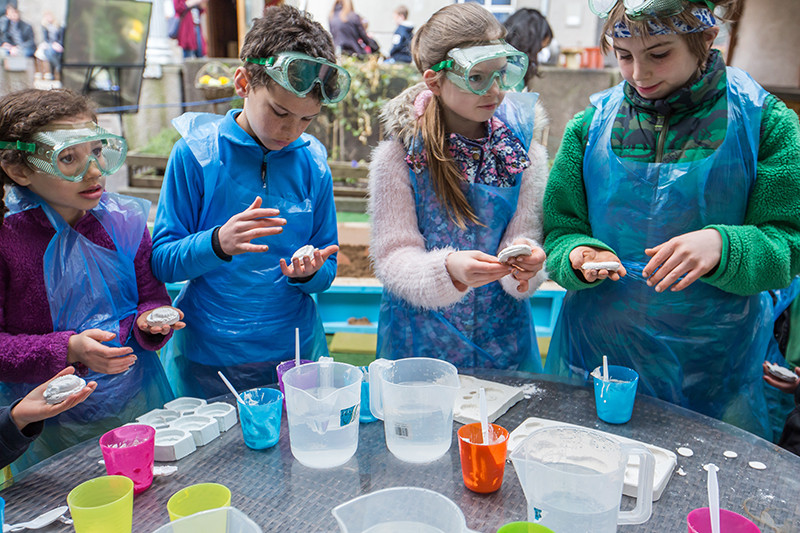 Kids at Science Festival Edinburgh