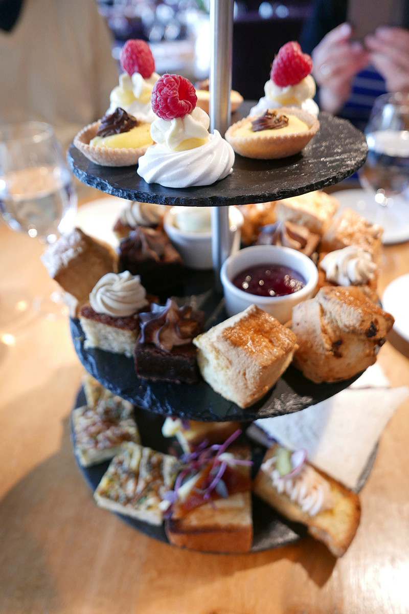 tower restaurant afternoon tea Edinburgh