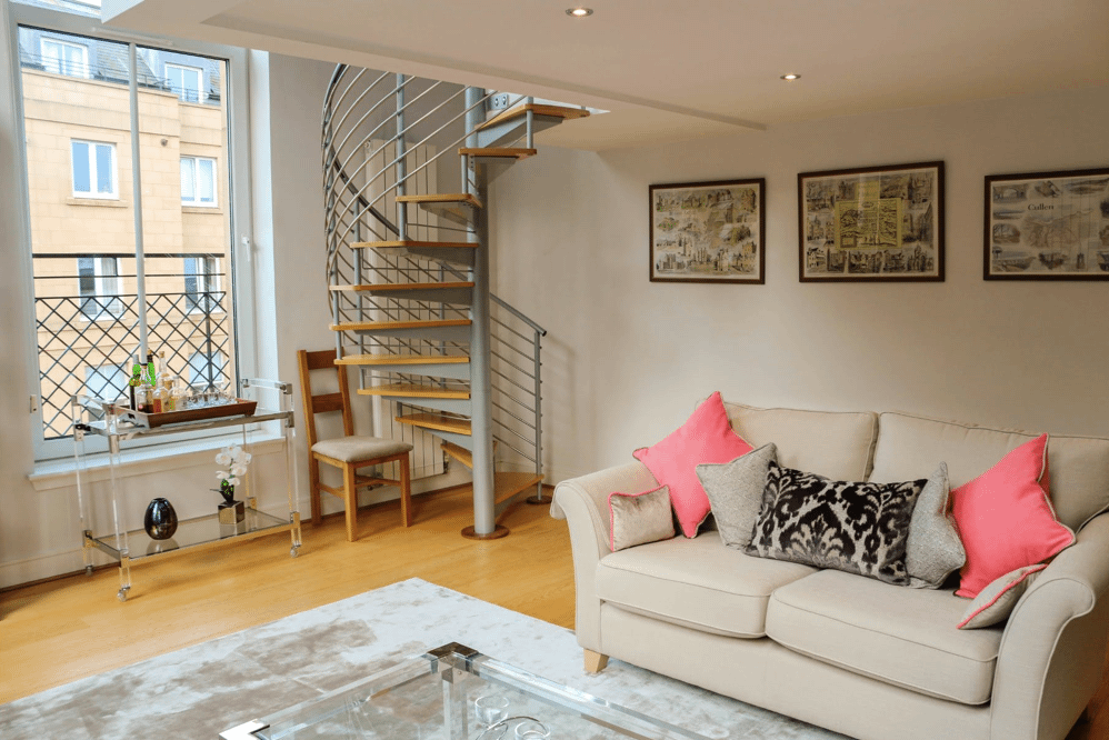 Hopetoun Crescent self catering accommodation Edinburgh